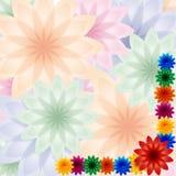 Резюмируйте цветок иллюстрация штока