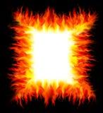 Рамка от пожара Стоковые Фотографии RF