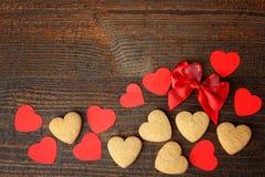 Рамка от разнообразие сердец Стоковая Фотография