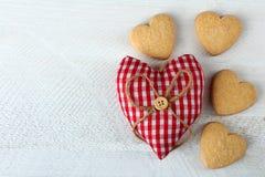 Рамка от разнообразие сердец Стоковое Изображение