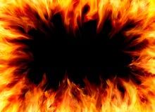 рамка пламени Стоковая Фотография RF