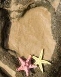рамка пляжа Стоковая Фотография RF