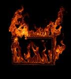 Рамка пожара Стоковые Фотографии RF