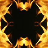 рамка пожара Стоковое Фото