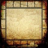 Рамка прокладки фильма Grunge иллюстрация вектора