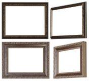 Рамка профиля и рамка с красивым украшением стоковые фотографии rf