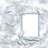 рамка птицы романтичная Стоковая Фотография