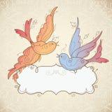 рамка птиц Стоковые Фото