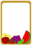 Рамка плодоовощей Стоковые Изображения RF