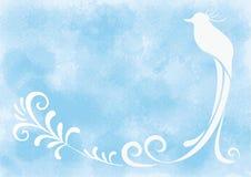 Рамка - райская птица Стоковые Изображения RF