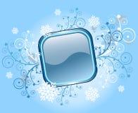 рамка рождества кнопки предпосылки Стоковое Фото