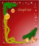 рамка рождества колоколов Стоковые Фотографии RF