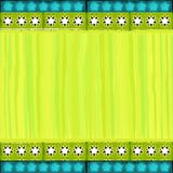 рамка рождества цветастая затрапезная Стоковые Фотографии RF
