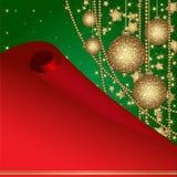 рамка рождества шариков бесплатная иллюстрация