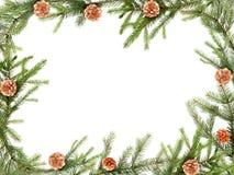 рамка рождества Стоковое Изображение RF