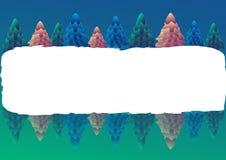 рамка рождества Стоковые Фотографии RF
