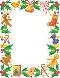 рамка рождества Стоковые Изображения