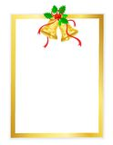 рамка рождества иллюстрация штока