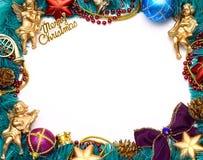рамка рождества Стоковое фото RF