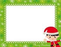 рамка рождества Стоковое Фото