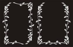 Рамка роз Стоковое Изображение RF