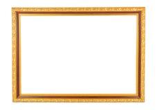 Рамка сбора винограда золота Стоковые Изображения
