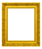Рамка сбора винограда золота Стоковое фото RF