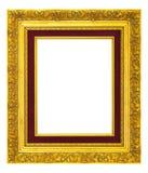 Рамка сбора винограда золота Стоковые Изображения RF