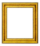 Рамка сбора винограда золота Стоковые Фото