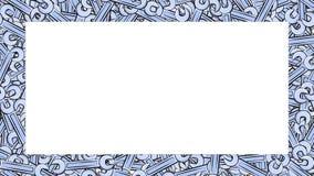 Рамка сделанная из ключей газа металла голубых голубых для ремонта здания locksmith для отпускать и завинчивать гайки - и - болты бесплатная иллюстрация
