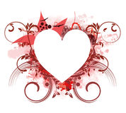 Рамка сердца Стоковая Фотография RF