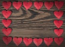 Рамка сердца Стоковые Изображения RF