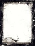 Рамка стиля Grunge ретро текстурированная конспектом Стоковое Изображение