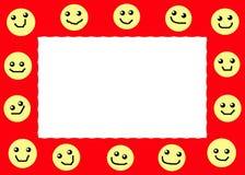 рамка счастливая Иллюстрация вектора