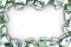 Рамка с европейским евро бесплатная иллюстрация