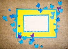 рамка сделала бумагу Стоковая Фотография