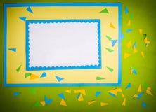 рамка сделала бумагу Стоковые Фотографии RF