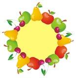 Рамка с плодоовощами. Стоковые Фотографии RF