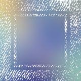 Рамка текстуры на запачканной предпосылке Стоковые Фотографии RF