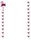 рамка тросточки конфеты граници Стоковое Фото