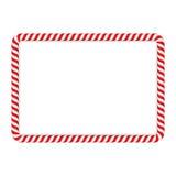 Рамка тросточки конфеты иллюстрация вектора