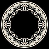 рамка украшения круглая Стоковые Фото