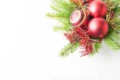 рамка украшения рождества Стоковое Фото