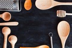 Рамка утвари кухни Стоковое фото RF