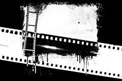 Рамка фильма Grunge иллюстрация штока