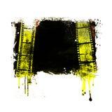 Рамка фильма Grunge иллюстрация вектора