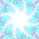 рамка фона голубая жизнерадостная иллюстрация вектора