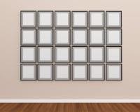 Рамка фото на стене Стоковые Изображения RF
