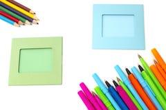 Рамка фото с ручками стоковая фотография rf