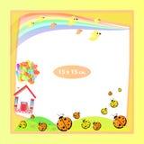 Рамка фото для ребенка Иллюстрации для дизайна иллюстрация штока